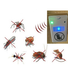 Ready Sell Fashion Useful Household Electronic Product Ultrasonic Wave Mosquito Repel Dispeller For Health(China)