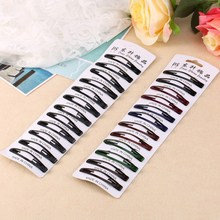 12pcs one set Baby Girl Hair Clips Hairpins Accessories Women Black Hairgrip Barrettes Head Hairpins Colorful(China)