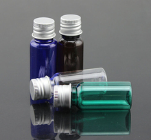 10ml Pet Plastic Bottle 10ML Small Perfume Bottle Filling Makeup Samples Cosmetics Empty Bottles(China)