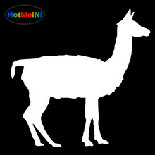 HotMeiNi Ship of The Desert Docile Camel Leisurely Walking Animal Car Sticker SUV Laptop Canoe Reflective Vinyl Decal 10 Color(China)