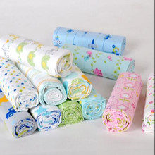 2pcs 100% cotton new baby blanket bedding fleece blanket&swaddling Top quality 76*76cm baby blankets RF632(China)