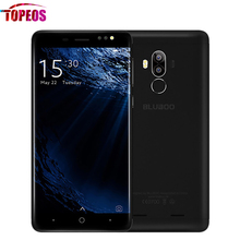 5'' Bluboo D1 8MP Dual Rear Camera Mobile Phone Android 7.0 MTK6580A Quad Core 2G RAM 16G ROM HD Fingerprint ID WCDMA Cellphone