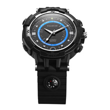 2017 Fox8 Sport Waterproof Smart Watch With LED floodlight Mini DVR WIFI Smart Watch Remote Video Monitor by WIFI or Hotspot(China)