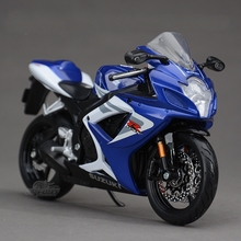 Freeshipping Maisto SUZUKI GSXR 750 1:12 Motorcycles Diecast Metal Sport Bike Model Toy New in Box For Kids