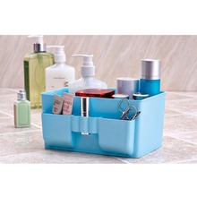 1Pc Large Capacity Foldable Multifunction Make Up Cosmetics Storage Box Container Bag Dresser Desktop Cosmetic Makeup Organizer(China)