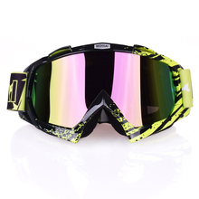MOTSAI16 Motocross Goggles Cross Country Skis Snowboard ATV Mask Oculos Gafas Motocross Motorcycle Helmet MX Goggles Glasses(China)