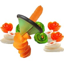 Creative Spiral Vegetable Slicer Cooking Tools Kitchen Accessories /Fruit Vegetable Carving Tools Kitchen Gadgets Roll Flower