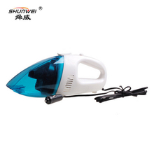 SHUNWEI Duckbill Car Vacuum Cleaner Wet And Dry Use Mini Car Cleaners 48W 12V Auto Cigarette lighter Electrical Cleaning Tools