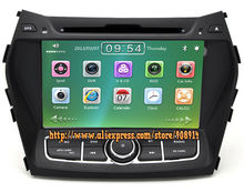 Factory Price Car dvd Player For Hyundai Santa Fe 2013 IX45 With GPS Navigation System Car Radio
