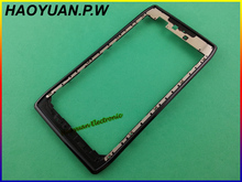 HAOYUAN.P.W Original New Faceplate Bezel Frame Housing Cover Case For Motorola Razr XT910/XT910 MAXX,Droid Razr XT912/XT912 MAXX(China)