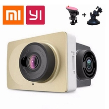 "[International firmware] Xiaomi YI Smart Car DVR camera WiFi Dash Camera 165 Degree ADAS 1296P/1080P 60fps 2.7""Car Camera  DVRS"