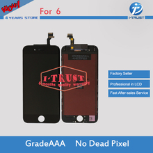 Good quality Glass Touch Screen Digitizer & LCD Assembly Replacement For iPhone 6 & Free DHL 4.7 inch(China)