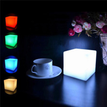 MUQGEW  2017 Newest High Quality  Portable   LED Cubes Colorful Changing Mood Lights Night Light Good Source of Materials