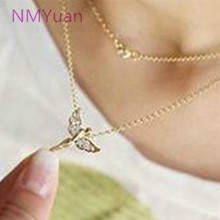 Selling! Shinhan Complete Fashion Jewelry Wholesale Imitation Diamonds Necklace Wholesale Ladies Flying Angel