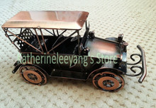 Antique classic cars model metal craft handmade car model fashion home decoration business gift