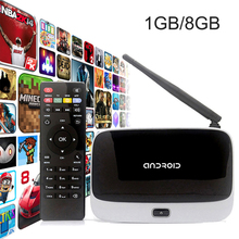CS918 Android 4.4 TV BOX RK3188 Quad Core DDR3 1GB Nand Flash 8GB Q7 Smart Mini PC WIFI Streaming Media Player Set Top Box(China)