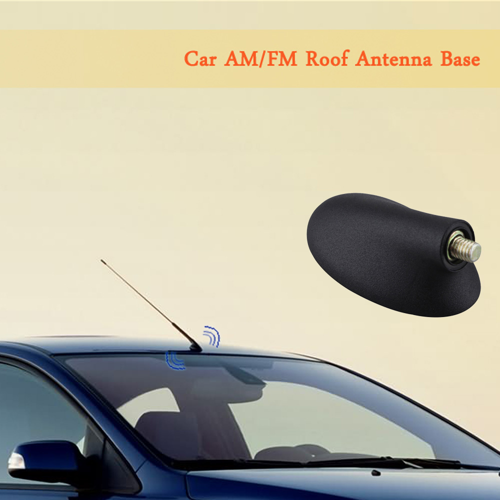 Universal car roof style shark fin antenna radio signal aerials am fm for ford focus