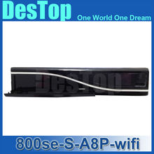 2016 800se A8P Sim card Wifi Satellite Receiver Bootloader 84 BCM4505 Tuner Decoder 800hd se wifi DHL Free Shipping