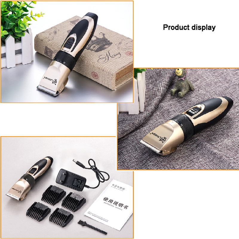 Professional Pet Grooming Set Dog Cat Nail Clippers Kit Rechargeable Pet Cat Dog Hair Trimmer Shaver Set Groomer Tool12