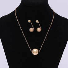 Golden beads Necklace Bright and charming Noble temperament sunshine Factory outlets can be wholesale