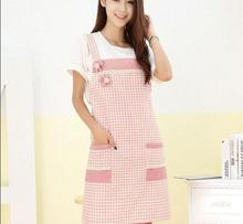 2017 cute Beauty Printed Funny Aprons Cartoon Kitchen Cooking Cleaning Aprons for Women Hot Sale Nice Monther Gift for Mother(China)