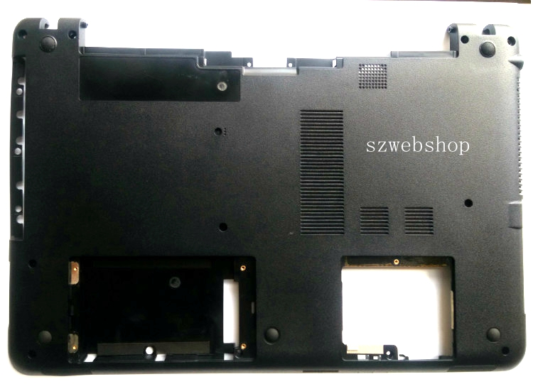 New for Sony vaio Bottom case cover SVF152A529U SVF1521GSAW SVF1532BCXW svf152c29x 152C26L 15218CXW 152C29M lowe housing D shell<br>