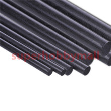 5pcs 4 mm Diameter x 500mm Carbon Fiber Rods For RC Airplane High Quality Pole(China)