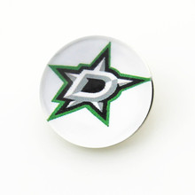 NHL Dallas Stars ice hockey sports team snap button 18mm glass round snap charms for snap DIY necklace bracelet jewelry