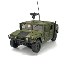 Brand New KDW 1:18 Military USA Hummer Alloy Car Model Military Vehicles Green For Kids Gift Toy Free Shipping(China)