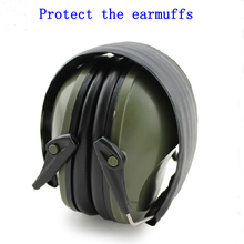 Professional soundproof foldaway protective ear plugs muffs for noise Tactical Outdoor Hunting Shooting hearing ear protection(China)