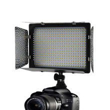 ICOCO WS-368 Photographic Lamp LED Lamp Video Light Photo Lighting On Camera 23W 6300K For Sony NP-F Series Camcorder Camera