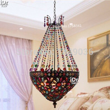 Modern Bohemian Decorated living room dining Chandeliers Christmas Bedroom lamp Hall Upscale atmosphere free shipping(China)