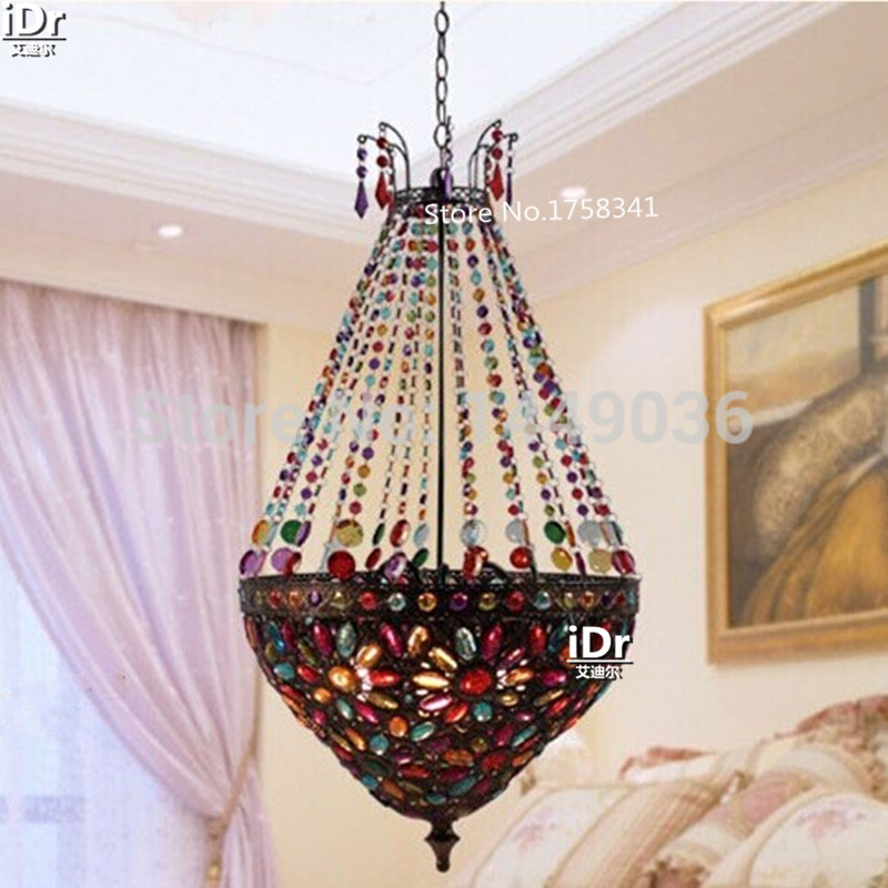 Modern Bohemian Decorated living room dining Chandeliers Christmas Bedroom lamp Hall Upscale atmosphere free shipping(China (Mainland))