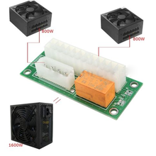 1xPower Supply Adapter Connector Dual Triple Relay Adapter Link Multiple