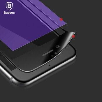 Baseus premium 0.23mm protector de pantalla de vidrio templado para iphone 6 6 s 6 Más 6 s Plus 3D Cubierta de Vidrio Esmerilado Arco Borde Completo película