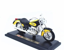 1:18 Maisto HONDA F6C Motorcycle Bike Model Yellow Black New in Box