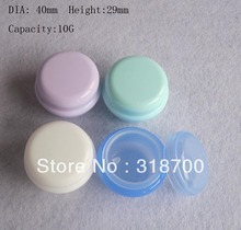 High quality 10g cream bottle,cosmetic container, 10 ml pp jar cream jar, 1/3 oz cosmetic packaging