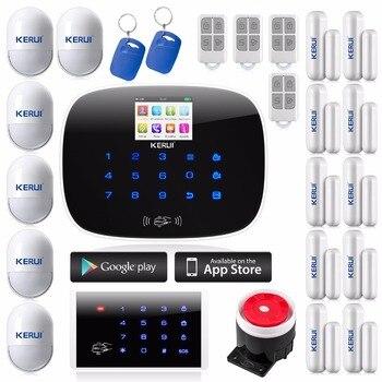 IOS Android APP Wireless GSM Texto Autodial Casa Chalet Departamento Antirrobo Sistemas de Alarma de Seguridad