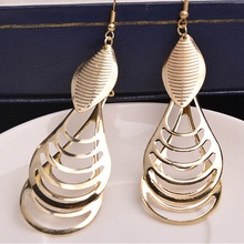 new fashion lady Drop Earrings India folk style retro long Tassel Earrings and jewelry wholesale manufacturers(China)