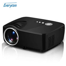 Everycom G90 AM01 LCD Projector 1200 Lumens Support 1920x1080P Analog TV LED Projector MINI beamer for Home Cinema Dual HDMI