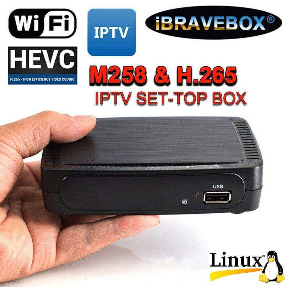 MAG 254 W1 IPTV Set-Top-Box BRAND NEW MAG254 BUILT IN WIFI 150 MBps HDMI cable