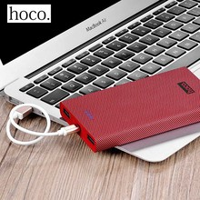 HOCO Power Bank 13000mah External Battery Portable Mobile Fast Charger Dual USB Powerbank iPhone 7 6s Xiaomi Samsung Tablet - DCAE Store store
