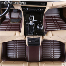 CHOWTOTO AA Custom Fit Special Floor Mats For Mazda CX-5 CX-7 M6/ATENZA M3 M3 Axela M2 Waterproof Leather Carpet(China)