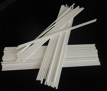 Alumina ceramic tube / OD*ID*Length=1.5*0.8mm*100mm / single bore insulators / good thermostability / insulation(China)