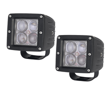 "2pcs 20W LED Work Light Bar 3x3"" Cube Pods 4D Cup Square Spot/Flood Beam Offroad Driving for SUV ATV 4x4 4WD Truck Motorcycle"