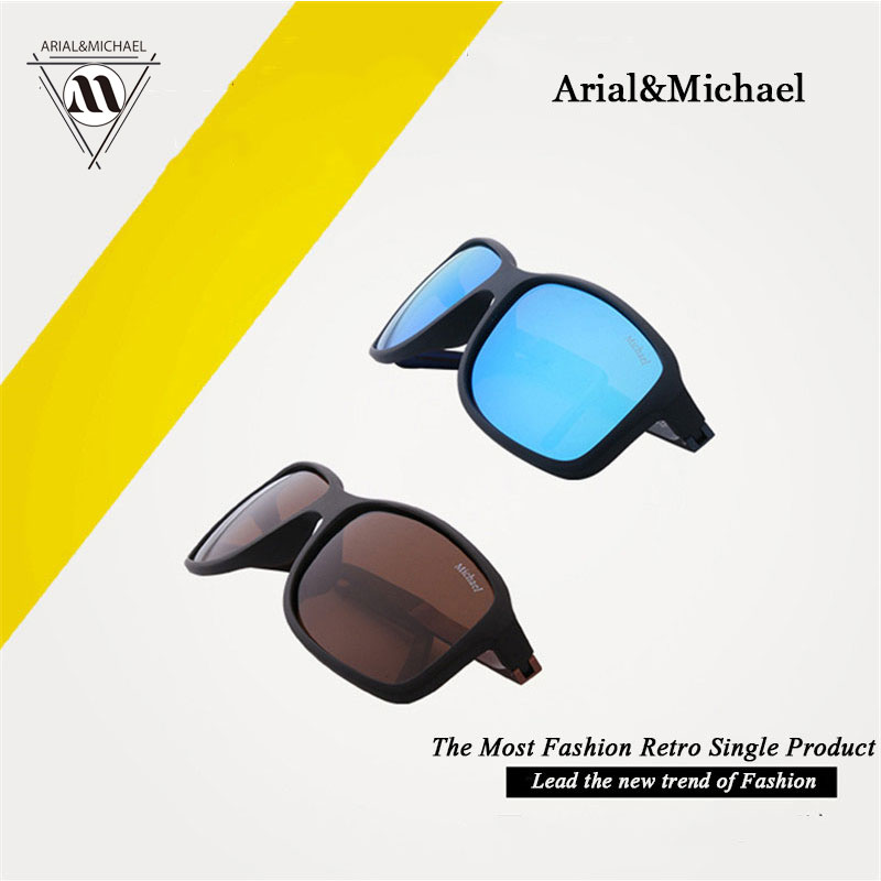 Arial&amp;MichaeL Brand New Classic fashion tourism colorful film Sunglasses comfortable UV Protection Polarized Sunglasses Unisex<br><br>Aliexpress