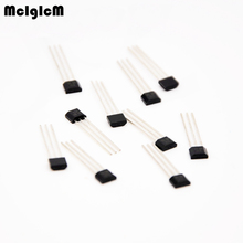 MCIGICM 50pcs OH137 Hall Effect Sensor for Highly Sensitive Instruments TO-92S In-kind Shooting free shipping