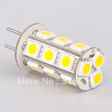Free Shiping LED Lamp G6.35 18led 5050SMD 12V  360-396LM  White Warm White Commercial Engineering Indoor 20pcs/lot