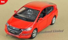 1:32 Scale Alloy Diecast Car Model For HONDA INSIGHT Collection Model Pull Back Car Toys With Sound&Light -Silver/Blue/Red/Black