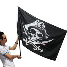 New Huge 3x5FT Skull and Cross Crossbones Sabres Swords Jolly Roger Pirate Flags With Grommets Decoration Best Deal1pcs